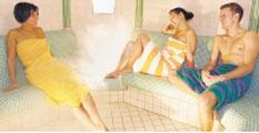 Bild vom Saunabetrieb